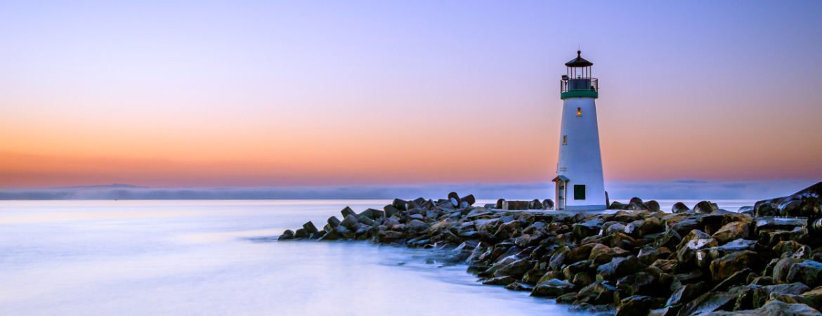 Lighthouse, Pacific Ocean, Santa Cruz, Watsonville, Travel